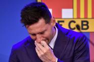 Despedida de Lionel Messi del Barcelona.