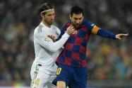 Sergio Ramos le dio la bienvenida a Messi al PSG