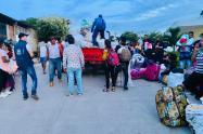Defensoría acompaña retorno de desplazados en el sur de Bolívar y advierte quejas por abandono de las autoridades