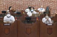Armando Córdoba, le declararon por segunda vez moción de censura