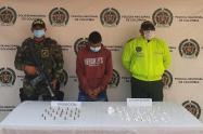 Se le hallaron en su poder 150 Gramos de clorhidrato de cocaína y 23 cartuchos calibre 9mm