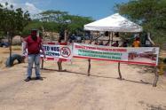La protesta fue retomada desde el pasado 11 de agosto