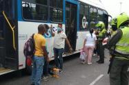 Balacera en norte de Barranquilla tras persecución a delincuentes