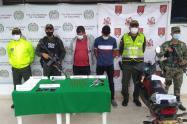 Captura a presuntos integrantes del grupo delincuencial EPL