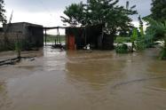 Luego de la caída fuertes lluvias en Coveñas fue declarada la calamidad publica en este municipio costero sucreño