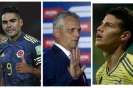 Falcao, Rueda y James