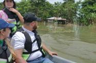 El río Cauca sigue desbordado por Cara e Gato.