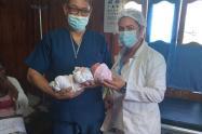 pasaron 25 años para que naciera un bebe en los pueblos palafitos con asistencia médica