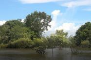Inundaciones en la región de la Mojana y el San Jorge dejan ya , 74,108 damnificados