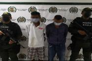 Los capturaron en el barrio El Rodeo