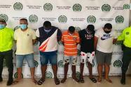 La Fiscalía los imputó de varios delitos