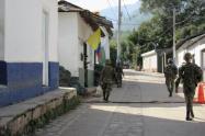 El Ejército viene adelantando operativos  para brindar seguridad a la comunidad