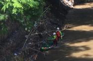 Organismos de socorro rescatan cuerpo de al parecer menor desaparecido hace una semana en Santa Marta