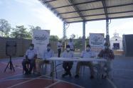 el Alcalde busca legalizar los predios del municipio que están ilegales en un 80%