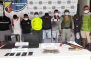 En Sincelejo cayeron 'Los 27' banda delincuencial dedicada al hurto en Sucre