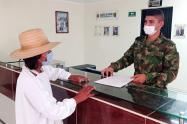 El Comando de Reclutamiento y Control Reservas, a través del distrito Militar N.°15, entregó más de 100 libretas militares