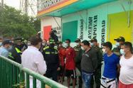Traslado de reos en Barranquilla