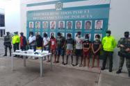 El operativo se desarrolló mediante 10 diligencias judiciales de allanamiento y registro en varios sectores de Riohacha