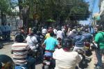 caravana Aguachica en señal de protesta por medidas de la pandemia