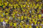 Seguidores de la Selección Colombia en el Estadio Metropolitano de Barranquilla
