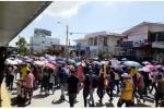 Protestan en Cartagena