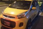 El taxista también resultó herido