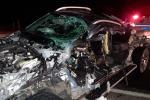 14 lesionados, 6 personas fallecidas en accidentes