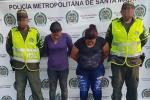 La mamá de Pupileto fue capturada con otra mujer.