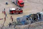 Accidente de bus ecuatoriano en Perú