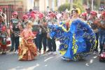 Todo un éxito fue el Desfile de Comparsas 2020 en Arjona Bolívar