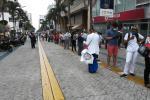 Largas filas en bancos de Ibagué