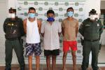 Policìa  Ncaional capturò a tres personas por obstruir vìas en el municipio de Since-Sucre