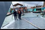 Habitantes del Archipièlago de San Bernardo recibieron ayudas humanitarias y  150,000 litros de agua