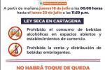 Declara Ley seca