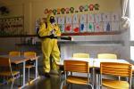 Regreso de niños a colegios