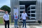 El contenedor servirá para afrontar la emergencia ocasionada por la Covid.