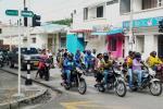 Protesta de motociclistas en Barranquilla