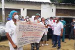 El personal de la salud inició protestas y pide la intervención inmediata de las autoridades.