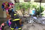 Bomberos, Santa Marta, Magdalena, Explosión