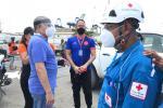 Las autoridades declararon alerta Naranja por 48 horas por posibles lluvias