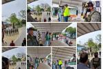 """Policía Nacional Y Gaula militar lanzan campaña en Majagual (Sucre):"""" La seguridad es de todos, por nuestra Mojana Sucreña"""""""