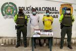 Los hombres fueron sorprendidos en la ruta Marialabaja - Cartagena