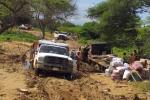 Emergencia por lluvias en La Guajira.