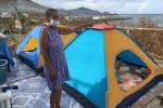 Habitantes de Providencia levantan los escombros de sus viviendas tras la devastación que dejó Iota
