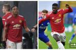 Martial y Tuanzebe, Manchester United