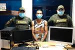 Los elementos hurtados están avaluados en cinco millones de pesos.