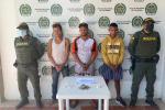 Capturan a tres personas por microtráfico en Magangué, Bolívar