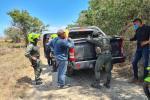 Fuerza pública realiza labores de seguridad