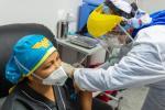 Primera persona vacunada contra el Covid-19 en Barranquilla