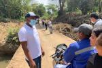 Socializando la medida con las comunidades de la zona rural.